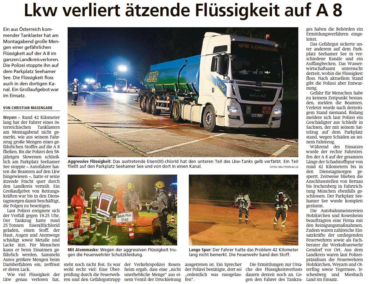 Pressebericht Miesbacher Merkur